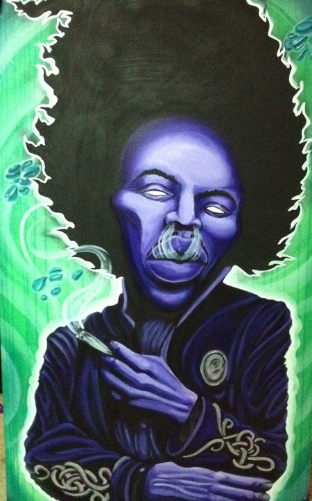 Ron Givens (Ronstafari) - purple jimi